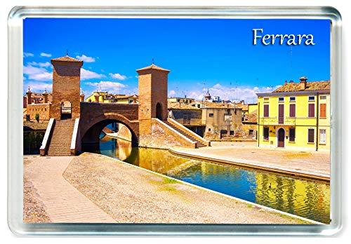 J172 Ferrara Jumbo Imán para Nevera Italy Travel Fridge Magnet