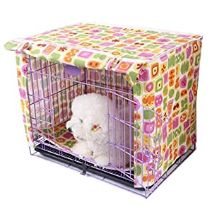 Alfie Pet - Chaney Pet Polyester Crate Cover - Size: Small