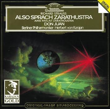 Strauss, R.: Also sprach Zarathustra; Don Juan