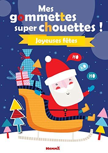 Mes gommettes super chouettes ! Noël (Père Noël)