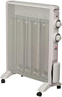 FM Calefacción RS-15 Blanco 1500W Radiador - Calefactor (Radiador, Piso, Blanco, Giratorio, 1500 W, 750 W)
