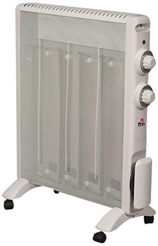 FM verwarming rs-15 gang 1500 W wit radiator verwarming radiator radiator, wit, rotatie, 230 V, 50 Hz, 1500 W)
