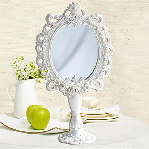 Continental Cosmetics miroir / miroir de bureau / miroir de miroir Résine verte + verre HD