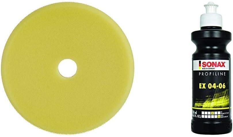 Sonax Exzenterpad Medium 143 Da 1 Stück Weicher Offenporiger Schwamm Zum Maschinellen Polieren Von Lacken Mit Exzentermaschinen Art Nr 04933410 Auto
