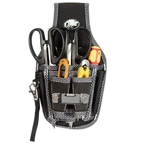 Bigsweety Tragbare Elektriker Werkzeugtasche Taille Tasche Werkzeug Gürteltasche Tasche Schraubendreher Kit Halter Fall