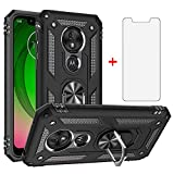 Phone Case for Motorola Moto G7 Play with Tempered Glass