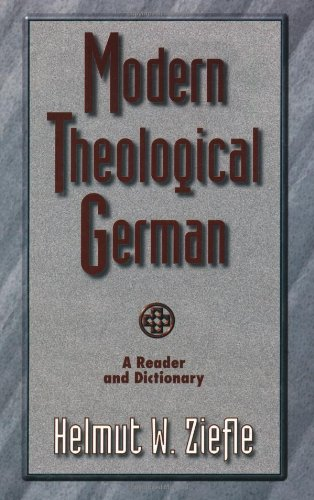 Modern Theological German (Sociology of Education)