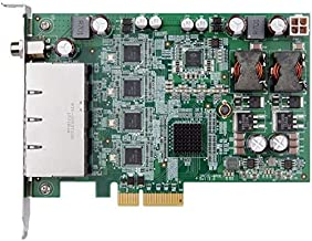 (DMC Taiwan) PCI Express Power Over Ethernet Card, 4-Port 1000 Base (T), 802.3af Compliant, RoHS