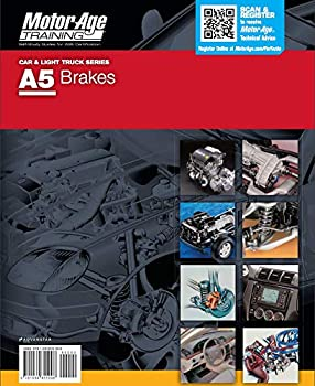 Spiral-bound A5 Brakes: The Motor Age Training Self-Study Guide for ASE Certification Book