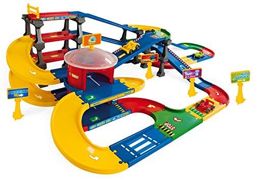 Wader Wozniak Kid Cars 3D Parkhaus, 2 Etagen mit Straße 9,1m