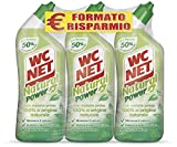 Wc Net Natural Power Gel, Anticalcare e Igienizzante per Sanitari e Superfici, Pulitore Liquido per Wc, 700 ml x 3 confezioni