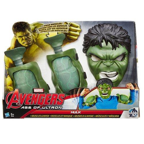 Marvel Avengers – Age of Ultron – Kostüm Zubehör – Hulk Muskeln & Maske [UK Import]