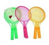 Black Temptation Beaux Enfants Jouets Creative Raquette de Tennis Badminton Raquette-Couleur aléatoire