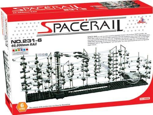 SpaceRail Game 60 Nashville-Davidson Mall Oakland Mall 000mm Rail Roller Marbl Building Set Coaster