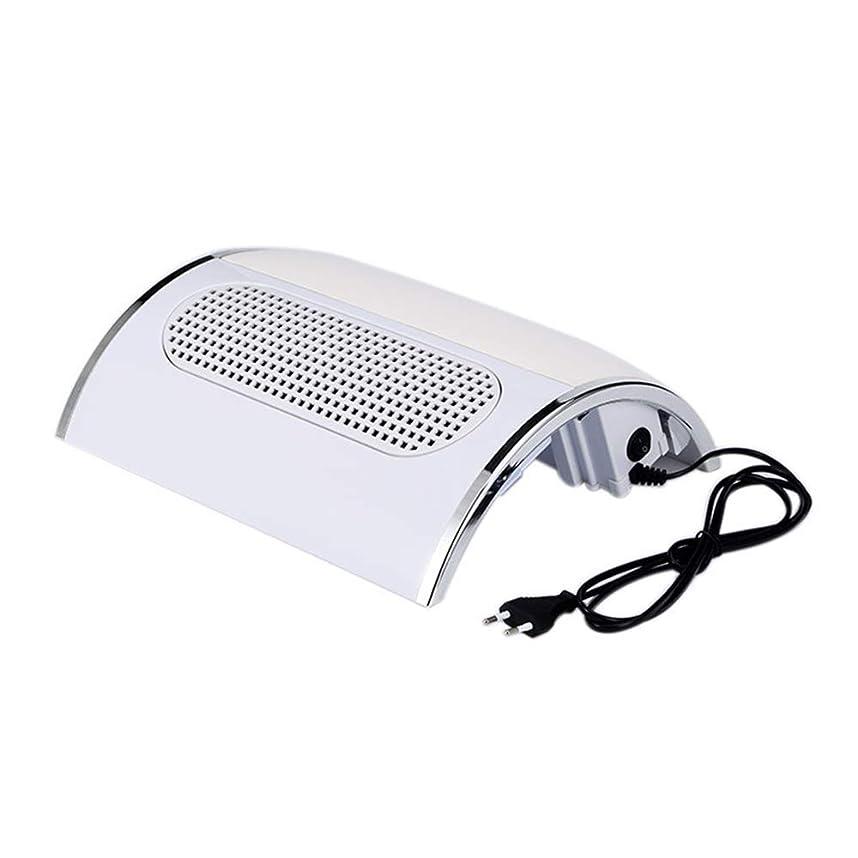 メールを書く上級所有者ネイル光線療法機 ネイルドライヤー - ネイルランプネイルバキュームネイルドライヤー3ファンパワーパワフルファン掃除機ネイルドライヤー