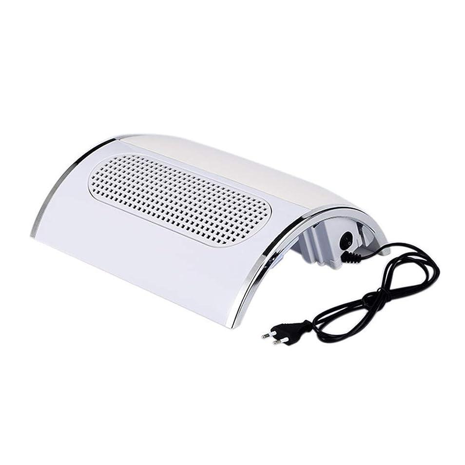 主張するパニック遺棄されたネイル光線療法機 ネイルドライヤー - ネイルランプネイルバキュームネイルドライヤー3ファンパワーパワフルファン掃除機ネイルドライヤー