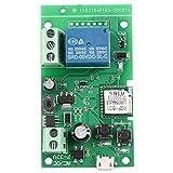 wi-fi intelligente interruttore WiFi Smart Switch Modulo relè autobloccante a scattoessere applicato al controllo di accesso Fai da te Garage WiFi Apriporta