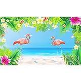 Fondo Flamingo CHALA Banner de fiesta tropical Aloha hawaian