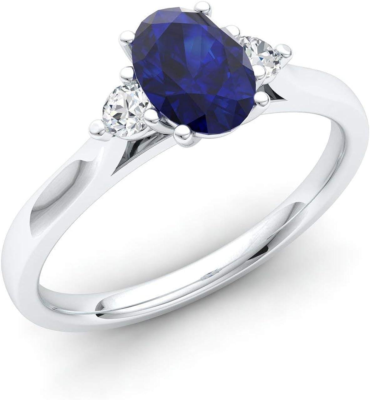 Diamondere Fresno Mall Free Shipping New Natural and Certified Oval Diamond Gemstone Cut E