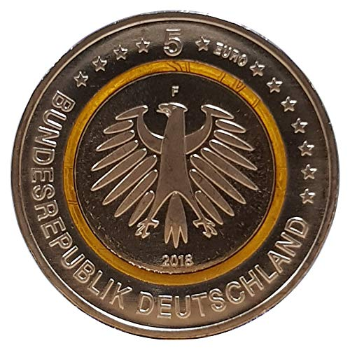 5 € Deutschland 2018 - Subtropische Zone. Aus der Serie...