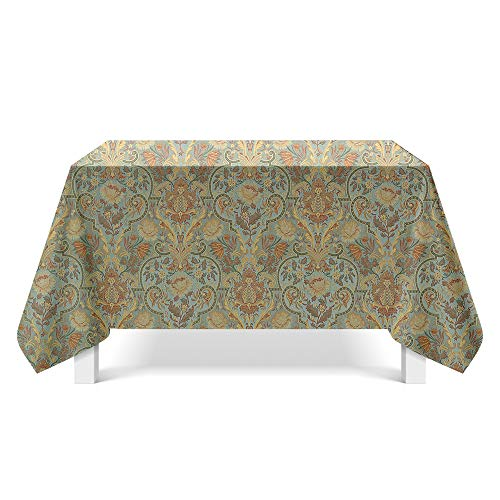 DREAMING-Gedruckte Strukturierte Stoff Tischdecken Home Esstisch Stoff Tv-Schrank Couchtisch Stoff Runde Tisch Tischset 90cm * 140cm