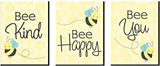 Big Dot of Happiness Honey Bee - Nursery Wall Art and Kids Room Decorations - Gift Ideas - 7.5 x 10 inches - Set of 3 Prints