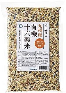 オーサワの九州産有機十六穀米