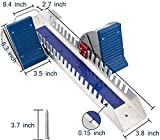 Supvision Multi-Function Lightning Starting Block Sprinter Pedals 6 Angle Adjustable Sprinter Track and Field Aluminum Suitable for Plastic Runway Cinder Track(Blue)