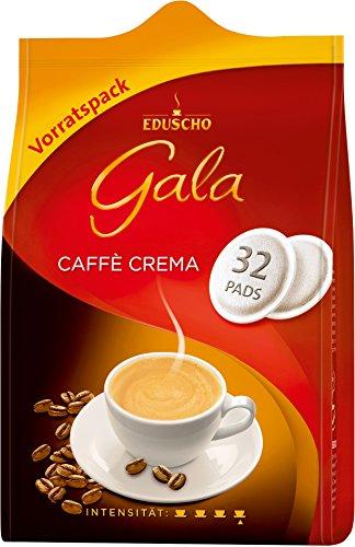 Eduscho - Gala Caffè Crema Pads Kaffeepads - 32St/218g