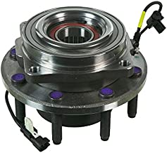 Detroit Axle 515130 Driver or Passenger Front Wheel Hub and Bearing Assembly for 2011 2012 2013 2014 2015 2016 Ford F-250 F-350 Super Duty 4x4 SRW Single Rear Wheel Models