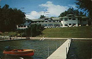 South Shore Inn at Lake Wawasee Syracuse, Indiana Original Vintage Postcard