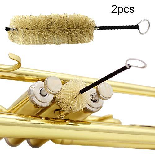 Allsunny 2 Stücke Blasinstrumente Mundstück Kolben Reinigungsbürste Für Trompete