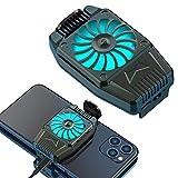 NALCY Handy-Kühler, Handy-Kühler Zum Spielen Von Videos Videos Ansehen, Led-Licht, Kühler-Controller Kompatibel Für Universelles Iphone/Android-Smartphone