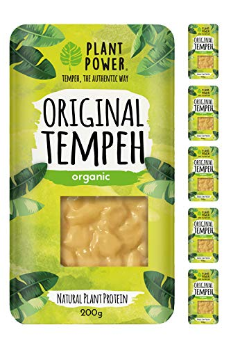 Plant Power - Original Organic Tempeh - Pack of 5