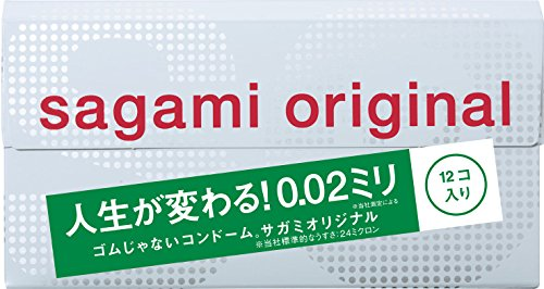 Sagami Original 002 Condom 12pcs (Japan Import) [Health and Beauty] (japan import)