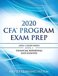 top rated CFA 2020 Exam Preparation Level 1: 2020 CFA Level 1, Book 3: Financial Reporting and Analysis… 2021
