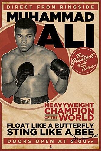 "Piramide Internationaal""Vintage Muhammad Ali"" Maxi Poster"