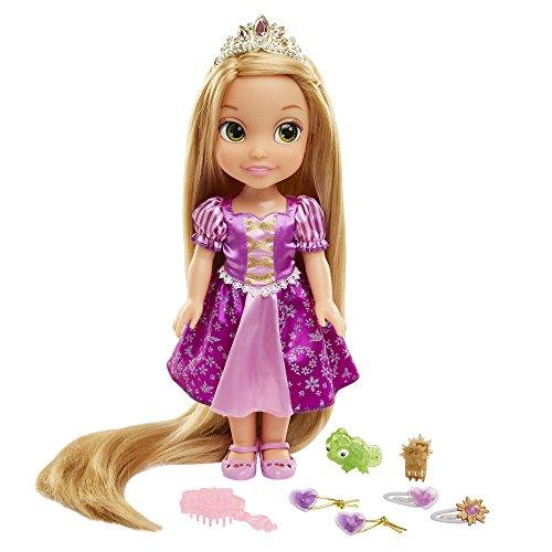 Disney Princess 72512–11L Rapunzel con Pelo Extra Largo, Lila, 35cm