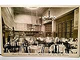 Hotel Restaurant Zweibrücker Hof. Düsseldorf. Inh. Willy Clemens. Alte AK s/w. Speisesaal Inneneinrichtung