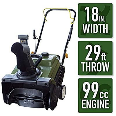 Blower Sportsman Earth Series 18 in. Single-Stage Gas Snow