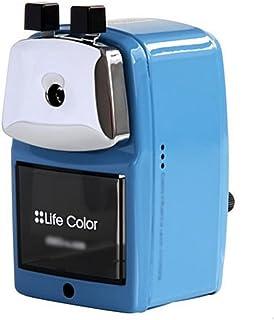 Liu Yu·Büroflächen, Bürobedarf blau Metall Bleistiftspitzer Hand Kurbel Bleistiftspitzer B06ZY4H593  Lassen Sie unsere Produkte in die Welt gehen