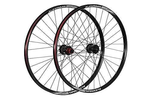Raleigh Unisex's Front Pro Build Tubeless Ready Downhill Wheel, Black, 26-Inch