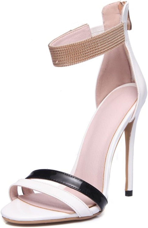 Women's Stiletto Sandals Open Toe Bag Root Classic Dinner Girl's High Heels