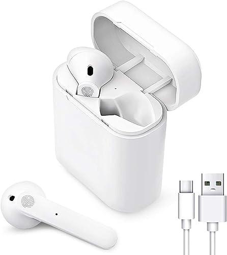 Auriculares Bluetooth,Auriculares inalámbricos Bluetooth 5.0 con reducción de Ruido,Cascos Inhalabricos In Ear de IPX...