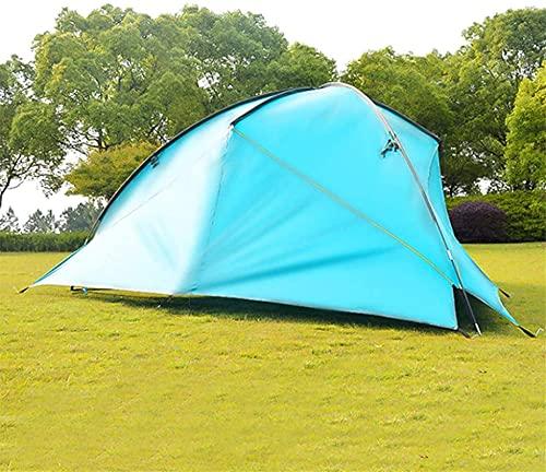 Equipo de camping Tienda de campaña ligera Sombrilla Impermeable Camping al aire libre Toldo Tienda familiar Invernadero (Color: Azul Tamaño: 480x480x480x200cm) (Color: Verde oscuro Tamaño: 480x480