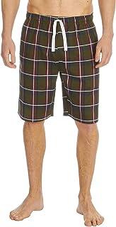 Cargo Bay Mens Woven Check Lounge Shorts