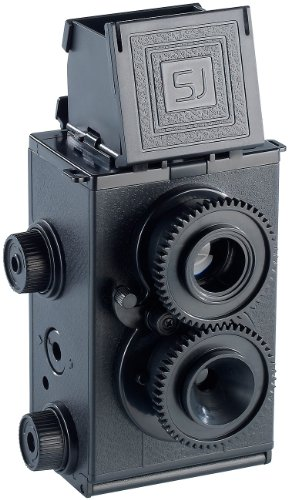 Somikon Kamera Bausatz: Zweiäugige Spiegelreflex-Kamera zum Selberbauen (Fotokamera)