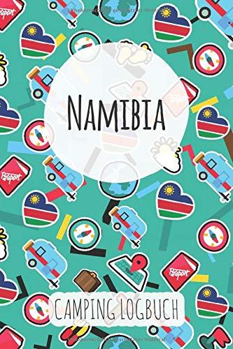 Namibia Camping Logbuch: Reisetagebuch & Notizbuch für Camper