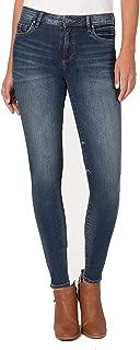 Women's Donna High-Rise Skinny Jeans in Plush w/Dark Stone Base Wash