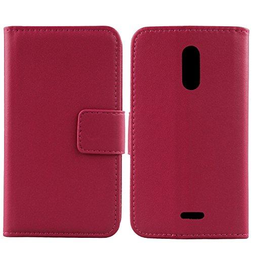 Gukas Design Echt Leder Tasche Für Alcatel 3C 5026D 6